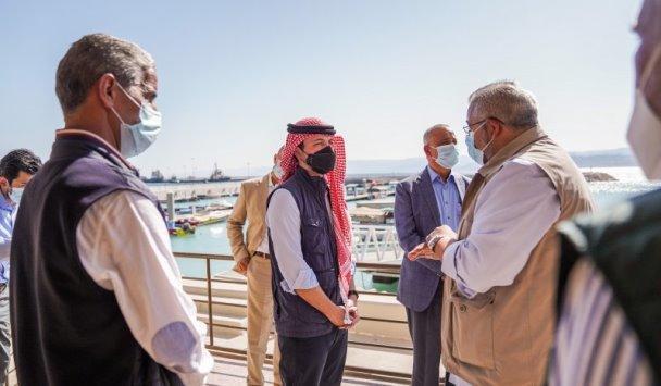 ولي العهد يفتتح مشروع تطوير ساحة الثورة العربية الكبرى