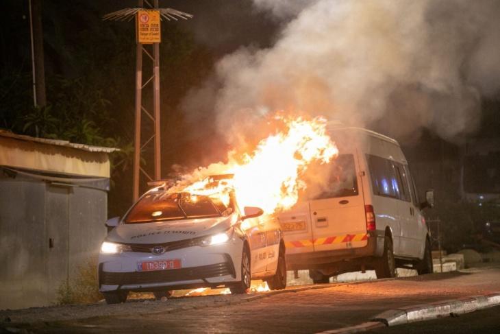 150 دورية لشرطة الاحتلال أحرقت بايار