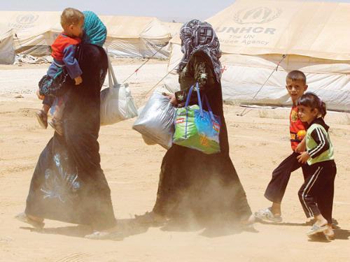 برنامج لمساندة اللاجئين بالأردن