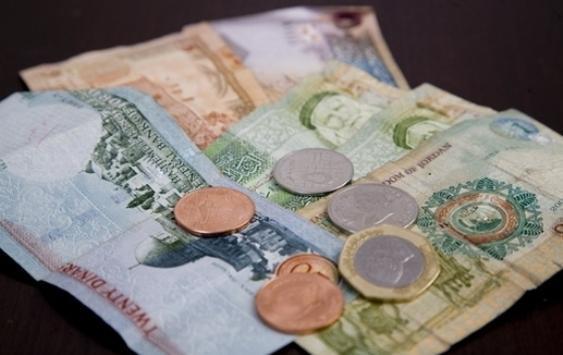 ارتفاع ودائع الدينار الأردني 2%