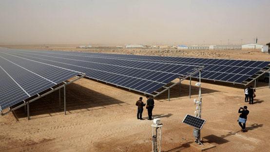 الطاقة المتجددة تغطي 20% من انتاج الأردن للكهرباء