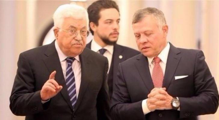 موقع خبرني : الملك يلتقي عباس في عمّان