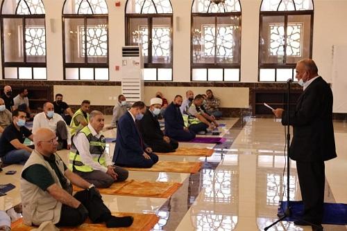 افتتاح مسجد شركة البوتاس العربية في غور الصافي بعد تجديده