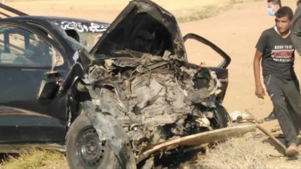 وفاة شابين بحادث تصادم في الكرك - صور