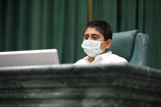 عيال سلمان رئيساً لمجلس نواب الطفل الاردني - صور