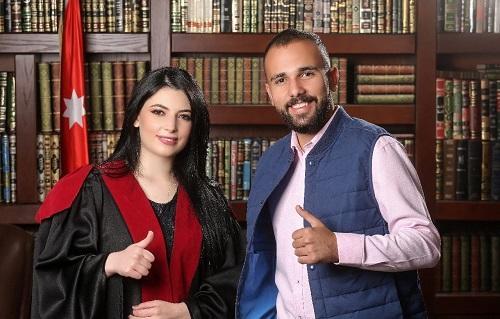 تهنئة لـ نايف محمد عطوة بالتخرج