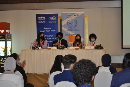 أورنج الأردن الراعي الذهبي لنموذج الأمم المتحدة للشباب الرابع