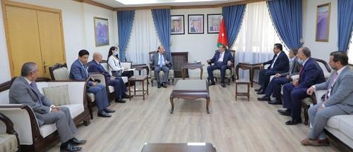 الدغمي: الأردن وسوريا تربطهما علاقات تاريخية