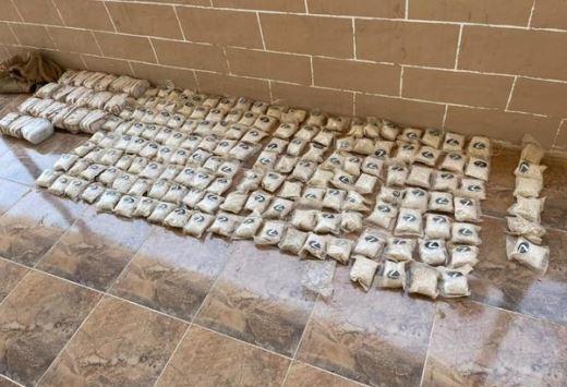 ضبط مخدرات أثناء تهريبها من سوريا للأردن