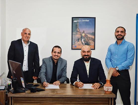 شراكة استراتيجية بين Jonavigators وشركة See Jordan