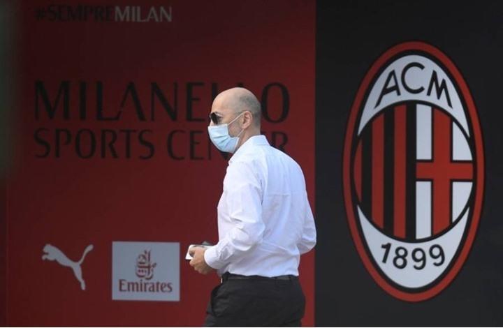 مرض خطير يصيب رئيس نادي ميلان الإيطالي