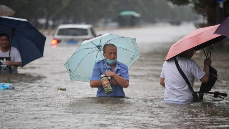 الصين تشهد أمطارا لا مثيل لها منذ 1000 عام