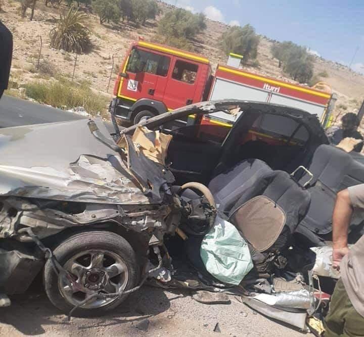 3 وفيات بحادث تصادم في الزرقاء - صور