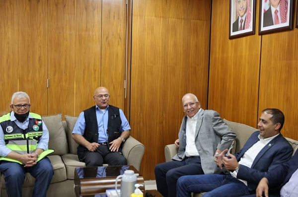 وفد نقابة المهندسين الأردنيين يزور مصانع شركة البوتاس العربية