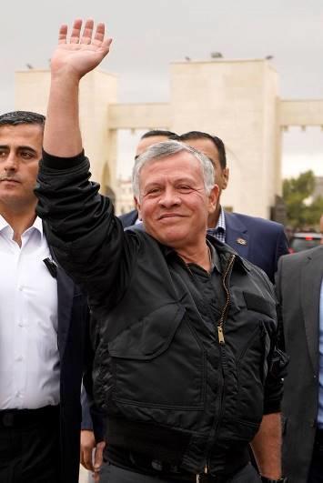 موقع خبرني : الملك يغادر إلى مصر