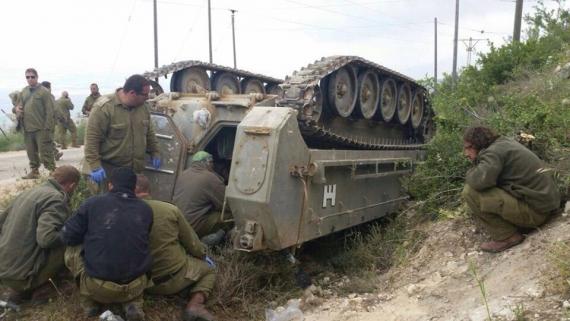 إصابة 7 جنود إسرائيليين على الحدود الأردنية