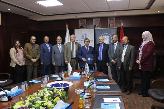 مذكرة تفاهم بين غرفة تجارة عمان وجامعة الاميرة سمية